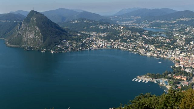 City & Lugano Lake