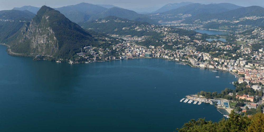 City & Lugano Lake